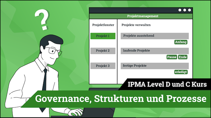 IPMA Level D und IPMA Level C Governance, Strukturen, Prozesse