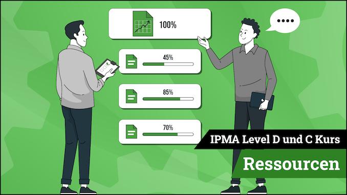 IPMA Level D und IPMA Level C Ressourcen