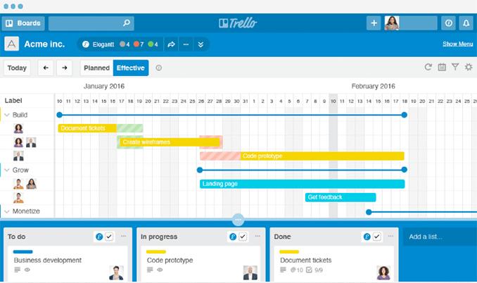 Trello für IPMA Level C Projektleiter